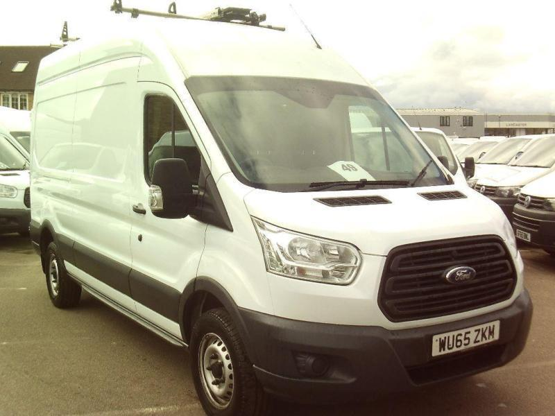 Ford Transit T350 L3 H3 125PS VAN DIESEL MANUAL WHITE (2015)