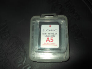 ford sync-map sd card.$25.00.