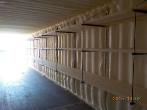 SEA CONTAINERS (modified) 40' USED