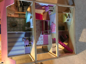 Double Sided Barbie House