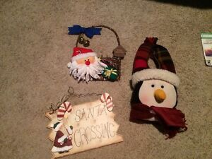 Xmas decorations- swipe for more