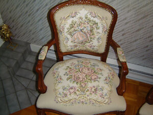 Chaises style Queen Anne