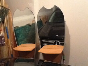 2 double side hair salon station for sale