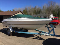 ****SOLD***18' LARSON BOWRIDER - ONLY 55 HOURS! 115HP YAMAHA