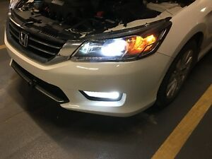 6000K HID LED KIT Bulbs Dust Proof CREE XHP50 Free Ship