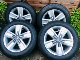 Brand new alloy wheels VW 17 HIGHLINE transpoter T6 T5