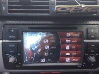"EONON 7""D5150Z CAR DVD PLAYER RADIO STEREO I BLUETOOTH TOUCH UK GPS SAT NAV BMW"