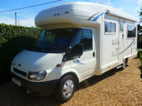 Auto Sleeper Rienza 2 Berth with U shaped Lounge Ford 2.4 TDI Automatic