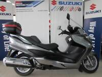 SUZUKI AN400 K8 BURGMAN PRISTINE EXAMPLE WITH TOP BOX AND ONLY 3000 MILES ON