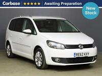 2012 VOLKSWAGEN TOURAN 2.0 TDI BlueMotion Tech Sport 5dr MPV 7 Seats