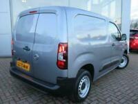 2020 Vauxhall COMBO CARGO 2000 1.5 Turbo D 100ps H1 Edition Van Van Diesel Manua