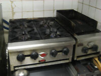 gas stove and grill