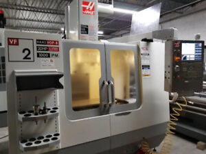 HAAS VF-2B CNC VERTICAL MACHINING CENTER