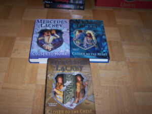 Mercedes Lackey - THE HERALD SPY trilogy - hardcover