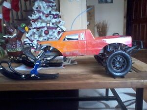 Traxxas stampede (highly modified)