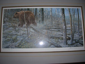 John Seery-Lester L. E. Print  After the Fire - Grizzly Kingston Kingston Area image 2