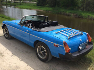 1976 MGB For Sale:  Excellent Condition with only 34000 Miles