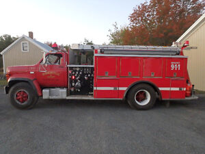 1985 Chev 70 Series Fire Truck