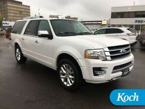 2016 Ford Expedition Max Limited  Load Level, Moonroof, Nav, BLI