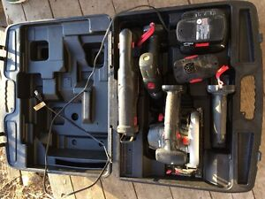 Craftsman 19.2 Volt Cordless Tool Kit