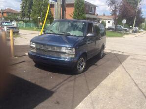 2003 Chevrolet Asto Van 94,000 kms