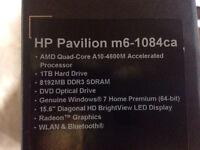 HP Pavillon m6 + $$$ contre MacBook Pro
