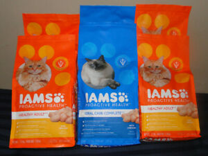 IAMS Dry Cat Food(1.59 kg)-6 bags -$ 45