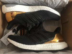 RARE ADIDAS ULTRA BOOST FOR SALE (TRIPLE BLACK 1.0, GOLD MEDAL)