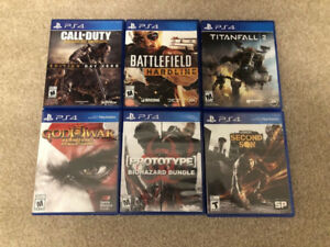 PS4 Games for Trade!