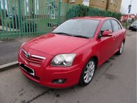 2006 TOYOTA AVENSIS 1.8 VVTi 1ZZ-FE MANUAL RED BREAKING FOR PARTS