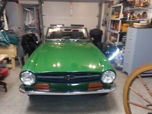 Rare 1969 Trumph TR6 - 1st Year they were made! West Island Greater Montréal image 7