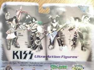 """RARE VINTAGE """"KISS"""" ACTION FIGURES  NEW IN BOX 1997 Cornwall Ontario image 6"""