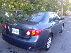 2010 Toyota Corolla new emission and safety