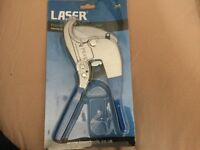 Laser, Ratchet pipe / hose cutter (new)
