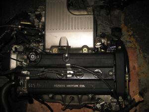 HONDA CR-V B20B B20Z DOHC 16 VALVE ENGINE JDM B20B DC2 CIVIC B18
