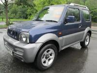 08/58 SUZUKI JIMNY JLX PLUS 1.3 3DR ESTATE IN MET BLUE