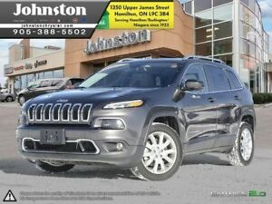 2017 Jeep Cherokee Limited  - Certified - Leather Seats - $178.8