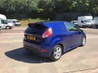 Ford Fiesta 1.5 Tdci Sport Van DIESEL MANUAL BLUE (2017)