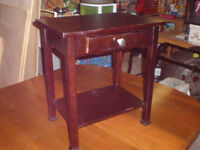 SMALL HALL TABLE WITH DRAWER... $10  519 729-5862