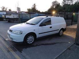 Vauxhall astra g mk4 van 2002