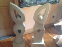 Home or garden decoration, abstract statue or ornaments