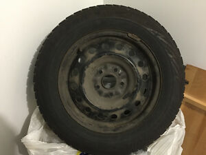 205/65 R16 Bridgestone Blizzak Winter tires