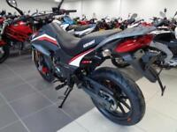 A BRAND NEW KEEWAY TX125 SUPERMOTO