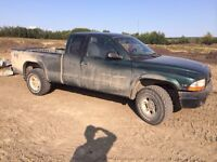 1999 dodge Dakota 4x4 green machine!