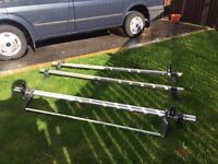 Roof rack with roller ( van guard) for ford transit
