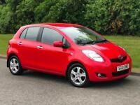 2010 Toyota Yaris 1.4 D-4D TR 6 Speed Manual 5 Door Diesel Hatchback