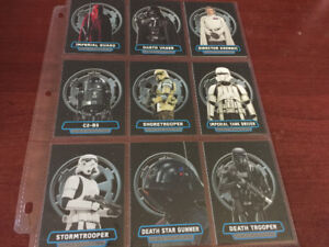 2017 Topps Star Wars Rogue 1 Series 2 Villains of the Empire SET