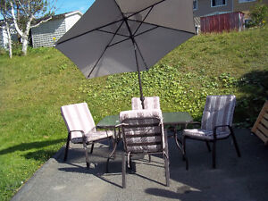 PATIO SET--19 Pieces in total