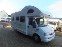 LUNAR CHAMP A601 SIX BERTH MOTORHOME FOR SALE