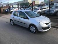 2006/06 Renault Clio 1.2 16v ( 75bhp ) Expression 5dr h/b Ideal 1st Car £1995